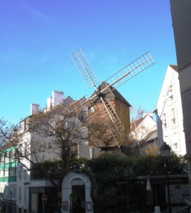 Le Moulin de la Galette in Montmartre, Paris
