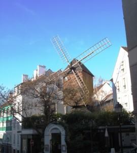 Le Moulin de la Galette in Montmartre, Paris